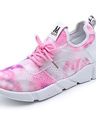 Femme-Extérieure Décontracté Sport--Talon Bas-Confort-Chaussures d'Athlétisme-Nylon Tulle