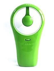 Holding a Mini USB Fan Dry Cell Dual Use Fan Small Whirlwind Hand-Held Fan