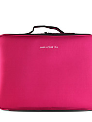 cheap -Cosmetic Bag Makeup Storage Solid Quadrate Nylon Cosmetic Beauty Care Makeup for Face