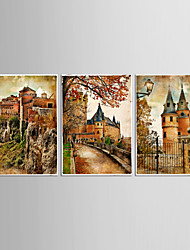 Canvas Set Abstract Animal Classic European Style,Three Panels Canvas Vertical Print Wall Decor For Home Decoration