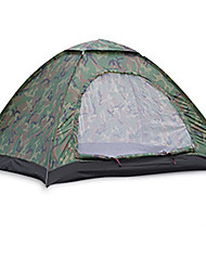 2 persons Tent Single Camping Tent Two Rooms Fold Tent Moistureproof/Moisture Permeability Waterproof Rain-Proof Breathability for Hiking