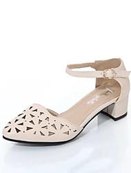 Da donna-Tacchi-Formale Casual-Comoda Club Shoes-Quadrato-Vernice-