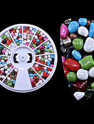 cheap -1PC The New  Many Stones Meteorites Grain Small Gravel Nails Decoration  Wheel Loading