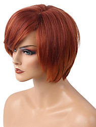 cheap -DIY Mixed Color   Short BOBO Hair   Human Hair Wig  Lovely    Woman hair