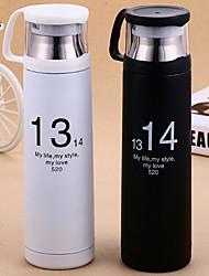 1pc sports drinkware 400 ml calor retenção namorado presente dom namorada suco de água vácuo copo copo