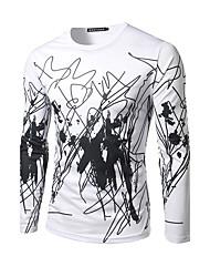 abordables -Tee-shirt Homme Imprimé Sports Chic de Rue Col Arrondi