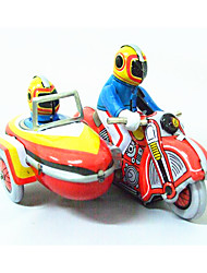 cheap -Wind-up Toy Toy Cars Motorcycle Toys Motorcycle Iron Metal 1 Pieces Children's Gift