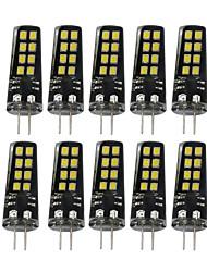economico -YWXLIGHT® 10 pezzi 3W 200-300 lm G4 Luci LED Bi-pin 16 leds SMD 2835 Decorativo Bianco caldo Bianco
