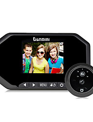 Danmini 3.0 Inch Hd Screen  Design for 160 Degrees Wide Angle Pir Motion Detection Super Night Vision Function Peephole Viewer.