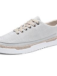 economico -Da uomo Scarpe Di corda Primavera Autunno Comoda scarpe da ginnastica Footing Più materiali Per Casual Nero Beige Verde