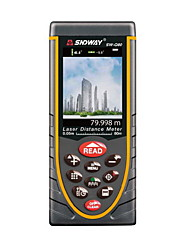Sndway SW-Q80 Handheld Digital 80m 635nm Laser Distance Measurer (1.5V AAA Batteries)