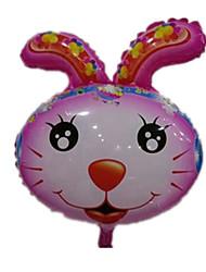 cheap -Balloons Toys Rabbit Aluminium Unisex Pieces