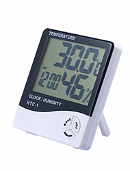 cheap -1Pc Digital Display  Multi-Function Temperature And Humidity Meter