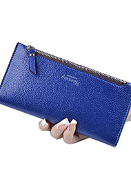 cheap -Women Bags PU Canvas Wallet for Shopping Casual Sports Formal Outdoor Office & Career All Seasons Silver Dark Blue Yellow Fuchsia Light