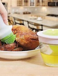 1Pcs   Silicone Brush Bottle For Barbecue Cooking Baking Pancake BBQ Tools Honey Oil Brush Kitchen Accessories