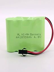 baratos -Ni-mh bateria 1800mah aa 4.8v sm cabeça de alta qualidade (cor verde)
