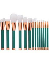 abordables -1 juego Sistemas de cepillo Cepillo de Cejas Cepillo de Teñir Cepillo para Polvos Cepillo para Base Otros Pinceles Pincel de Nylon