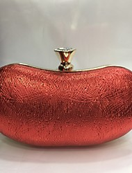 Women Bags All Seasons PU Evening Bag for Wedding Event/Party Champagne Gold Black Silver Red