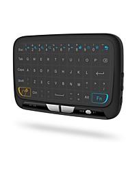 Teclado do mouse do ar esquilo voador hi8 2,4ghz sem fio para tv tv e pc e touchpad