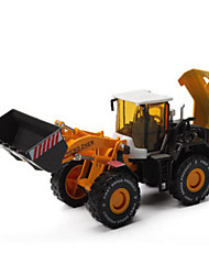 cheap -Construction Vehicle Wheel Loader Toy Truck Construction Vehicle Toy Car Metal Kid's Toy Gift