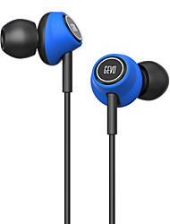 cheap -GEVO Gv6 Stereo Ergo-Fit Music In-Ear Headphones with Microphone Inline Controls for IOS/ Android Built-in Mic Hands-free Calling Extra Earbuds(Blue)