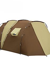 5-8 persone Tenda Tenda a cabina Doppio Tenda da campeggio Due camere Tende da campeggio formato famiglia Antiumidità Ompermeabile