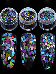 economico -1 pcs Nail Art Design Glitters / Classico Quotidiano