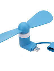 Two-in-One Feature Mobile Phone Dedicated Mini Fan Adapted To Apple Phone And Android Phone
