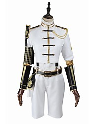 cheap -Inspired by Cosplay Cosplay Video Game Cosplay Costumes Cosplay Suits Cosplay Tops/Bottoms Fashion Long Sleeves Coat Blouse Pants Socks