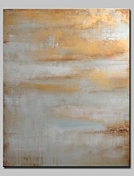cheap -Hand-Painted Abstract Vertical, European Style Modern Canvas Oil Painting Home Decoration One Panel
