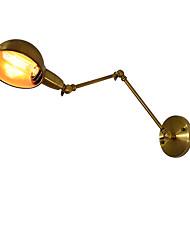 AC 100-240 4 E27 Rustique Traditionnel/Classique Laiton Antique Fonctionnalité for LED Ampoule incluse,Vers le Bas Appliques murales LED