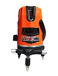 Deke® 5 Line 650nm Infrared Laser Marking Instrument Leveling Line Laser