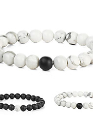 cheap -Men's Women's Charm Bracelet Fashion Costume Jewelry Agate Circle Jewelry For Gift