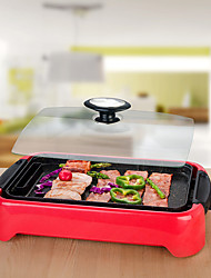 Die Cast Aluminum Electric Indoor Reversible Grill with Non-stick Surface