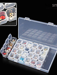 cheap -nail art Other Tools Nail Jewelry Jewelry Organizers Regular Classic Universal High Quality Daily Storage Box