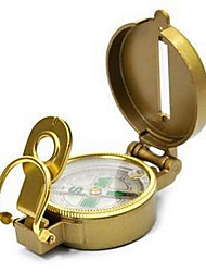Недорогие -Компасы Направленный Прочный Удобный Походы металл желтый