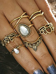cheap -Women's Alloy Crown - Crown Unique Design Vintage Gold Silver Ring For Party Daily Casual