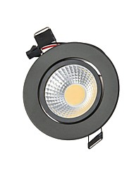 cheap -9W 2G11 LED Downlights Recessed Retrofit 1 COB 820 lm Warm White Cold White K Dimmable Decorative AC 220-240 AC 110-130 V