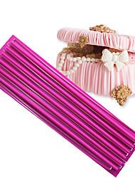 3d tapete de silicone decoração de bolo silicone laço moldes acessórios de cozinha cor aleatória