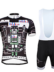 Cycling PaladinSport Men Shirt  Straps Shorts Suit BKT 747