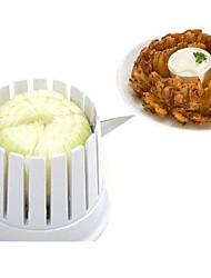 1 Set Kitchen Onion Blossom Maker Onion Slicer Cutter Blossom Maker Cutting Cut Onion Flower
