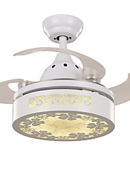 cheap -Ecolight™ Ceiling Fan Ambient Light - LED, Modern / Contemporary, 220-240V, Warm White White, Bulb Included