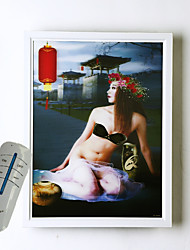 Ac 12 dc 12 12 led integrato moderno / contemporaneo pittura moderna / comtemporary pittura per bulbo incluso, ambient light wall