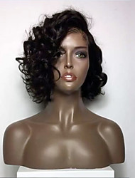 New Style Short Brazilian Virgin Human Hair Lace Wigs Lace Front Human Hair Wigs Bob Curly Wigs Virgin Hair Wig Baby Hair for Black Woman