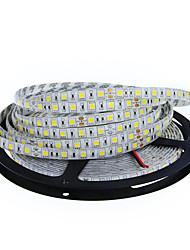 Недорогие -Гибкие светодиодные ленты 300 светодиоды Тёплый белый Белый Можно резать Самоклеющиеся Подсветка для авто Компонуемый DC 12 В DC 12V