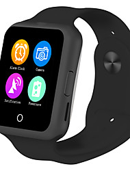Mtk6261 montre intelligente sim 32mb rom montre-bracelet support android ios 350mah gsm 5colors bluetooth smartwatch