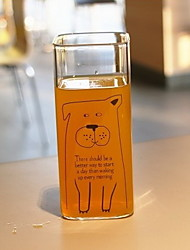 Недорогие -Drinkware Стекло Бутылки для воды Прочный 1 pcs
