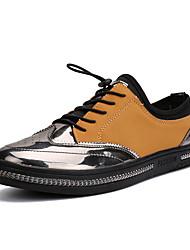 economico -Da uomo-Sneakers-Casual-Suole leggere-Piatto-PU (Poliuretano)-