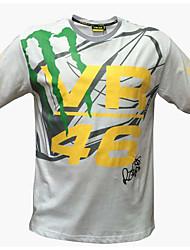 Vêtements de moto à manches courtes humidité respirante transpiration t-shirt à dessiccation rapide t-shirt été unisexe