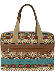 cheap -Women's Bags Canvas Shoulder Bag Pattern / Print for Casual Office & Career All Seasons Maroon
